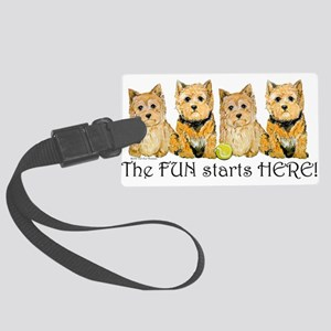 Norwich terriers 2006 Large Luggage Tag
