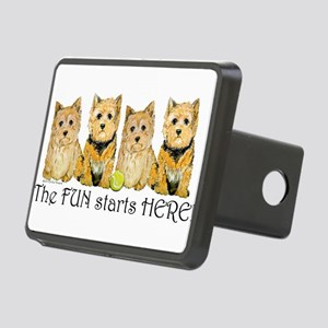 Norwich terriers 2006 Rectangular Hitch Cover