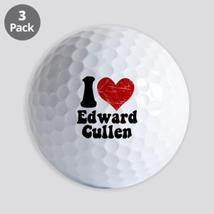 I Love Edward Cullen Golf Balls