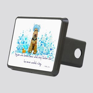 dog wash 14 x 6 Rectangular Hitch Cover