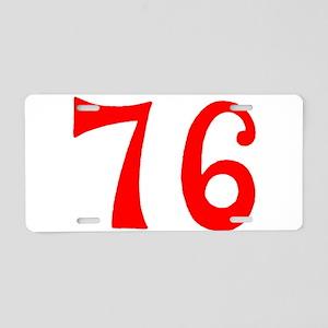 SPIRIT OF 76 NUMBERS™ Aluminum License Plate