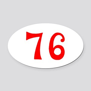 SPIRIT OF 76 NUMBERS™ Oval Car Magnet
