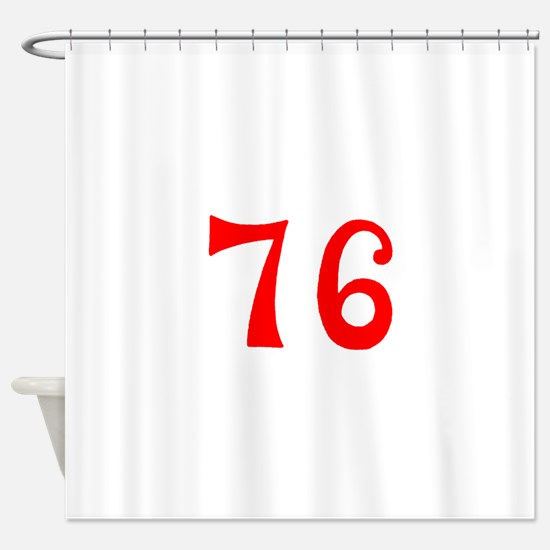 SPIRIT OF 76 NUMBERS™ Shower Curtain