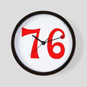 SPIRIT OF 76 NUMBERS™ Wall Clock