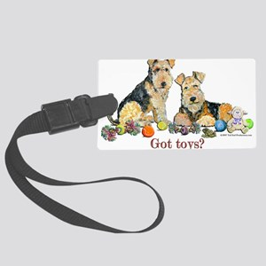 Got Toys Airedale copy Large Luggage Tag