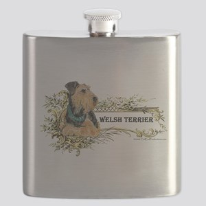 Fabulous Welsh Terrier Flask