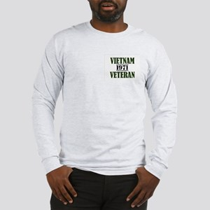 VIETNAM VETERAN 71 Long Sleeve T-Shirt