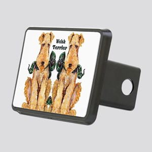 Welsh Terrier Rectangular Hitch Cover