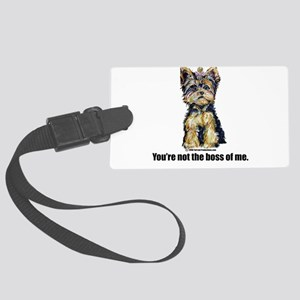 4-3-Boss 2008 Large Luggage Tag