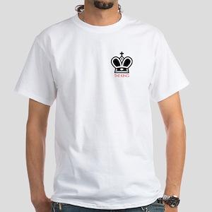 White T-Shirt - The King