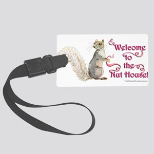 Squirrel Nut House Large Luggage Tag