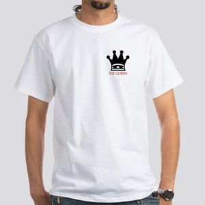 White T-Shirt - The Queen