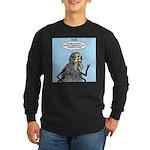 Radioactive Spider Bite Long Sleeve Dark T-Shirt