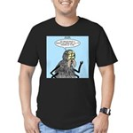 Radioactive Spider Bite Men's Fitted T-Shirt (dark