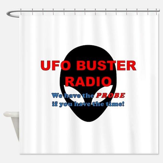 UBR Probe Time Shower Curtain