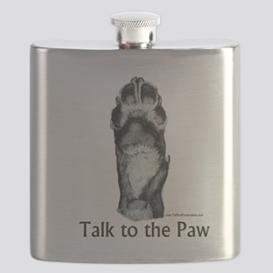 Talk to the Paw 2 Flask