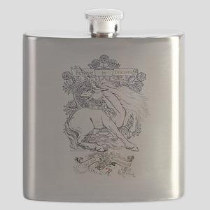 Believe in Unicorns Flask