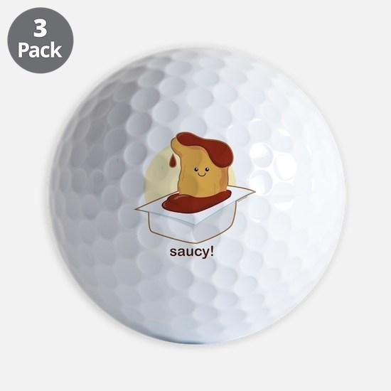 Saucy! Golf Ball