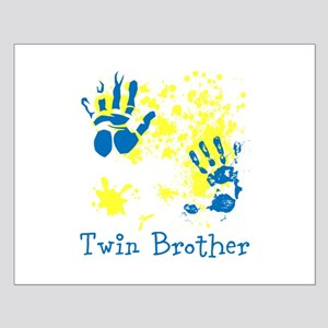 Twin Brother. Messy. Small Poster