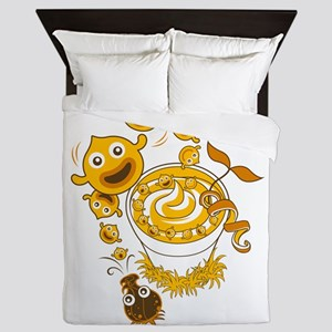 SmoothieJoy Queen Duvet