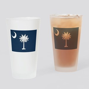 SC Palmetto Moon Drinking Glass