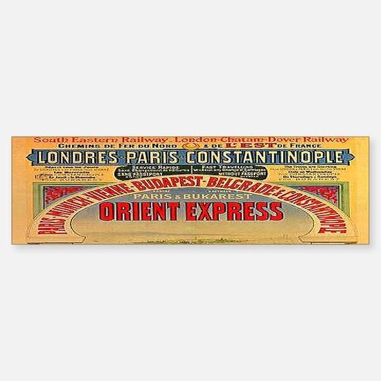 Orient Express Sticker (Bumper)