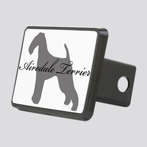 3-greysilhouette Rectangular Hitch Cover