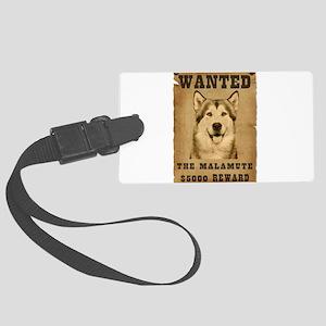 3-Wanted _V2 Large Luggage Tag