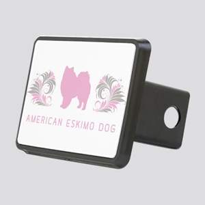 21-pinkgray Rectangular Hitch Cover