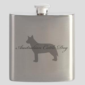 11-greysilhouette Flask