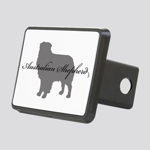 12-greysilhouette Rectangular Hitch Cover