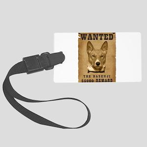 13-Wanted _V2 Large Luggage Tag