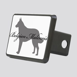 18-greysilhouette Rectangular Hitch Cover