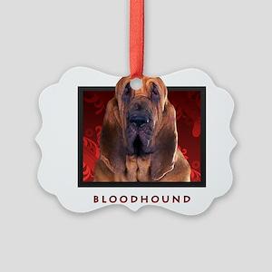 11-redblock Picture Ornament