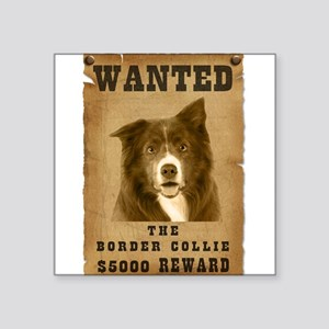 """20-Wanted _V2 Square Sticker 3"""" x 3"""""""