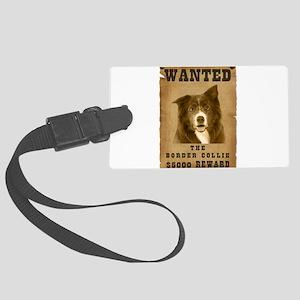 20-Wanted _V2 Large Luggage Tag