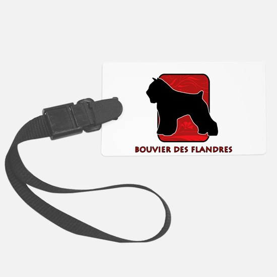23-redsilhouette.png Luggage Tag