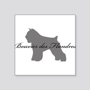 """28-greysilhouette.png Square Sticker 3"""" x 3"""""""