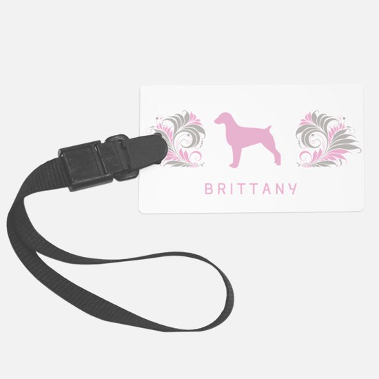 34-pinkgray.png Large Luggage Tag