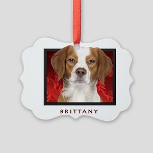 14-redblock Picture Ornament