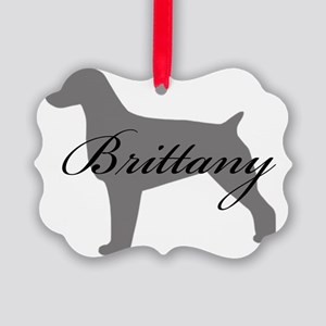 31-greysilhouette Picture Ornament