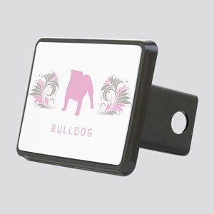 14-pinkgray Rectangular Hitch Cover