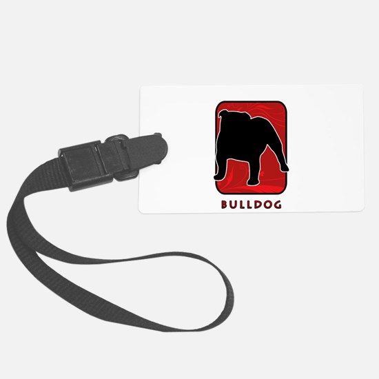 28-redsilhouette.png Luggage Tag