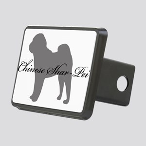 7-greysilhouette Rectangular Hitch Cover