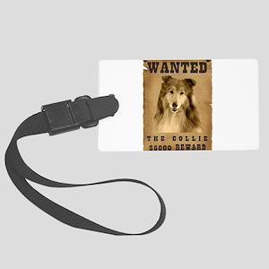 16-Wanted _V2 Large Luggage Tag