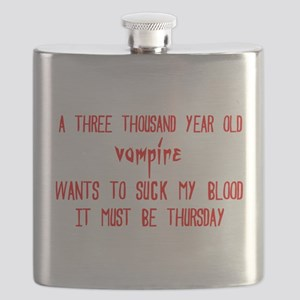 must be thursday Flask