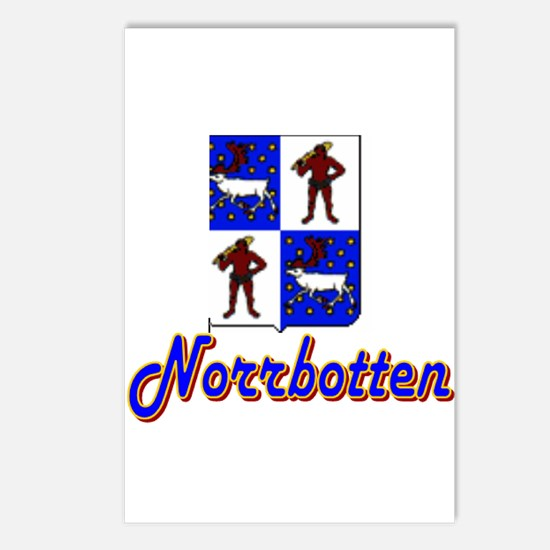Norrbotten County Postcards (Package of 8)