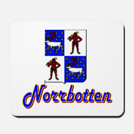 Norrbotten County Mousepad
