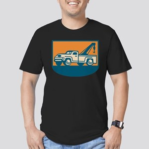 Vintage Tow Wrecker Pick-up Truck Men's Fitted T-S