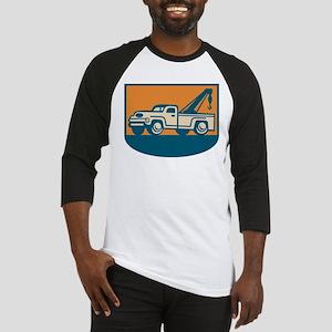 Vintage Tow Wrecker Pick-up Truck Baseball Jersey